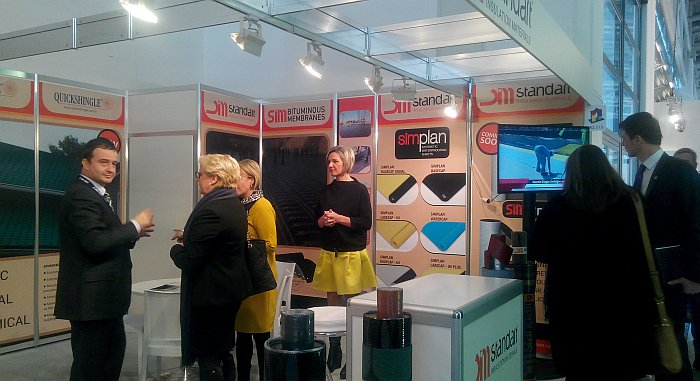 Great interest is shown for Standart Insulation products in BAU 2017