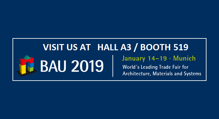 We wait for you in BAU 2019 - International Trade Fair