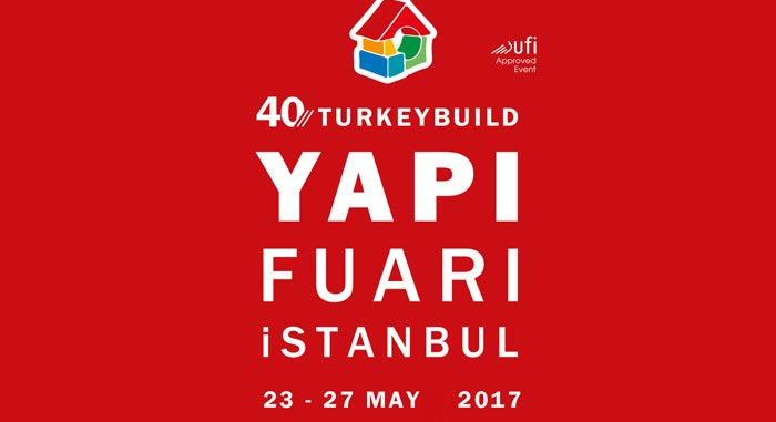 We are at 40th YAPI – TURKEYBUILD Istanbul Exhibition
