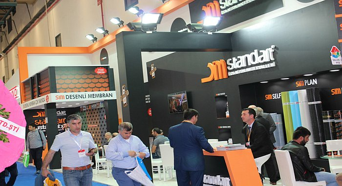 Great interest is shown for Standart Insulation products in Turkeybuild 2016