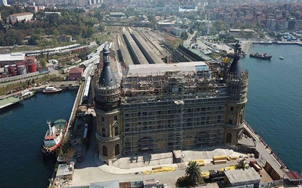Istanbul, Haydarpaşa – Historical Train Station : SIM Self Adhesive